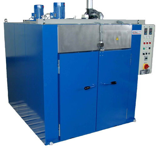 drying oven / heat treatment / polymerization / truck-in