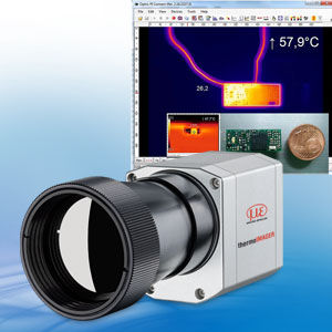 microscopy objective lens / for thermal analysis