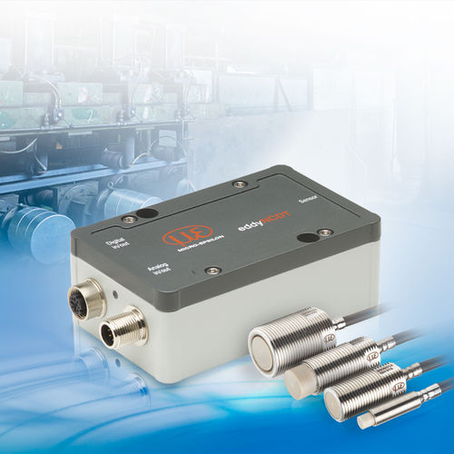 linear displacement sensor / non-contact / inductive / compact