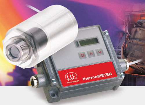 infrared thermometer / digital / with LCD display / compact