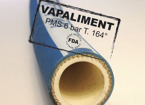 EPDM hose / for hot water / cleaning / without metal reinforcement 10 - 50 mm, 6 bar | VAPALIMENT ANFRAY