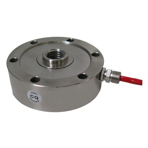 compression load cell / stainless steel / IP65 / through-hole