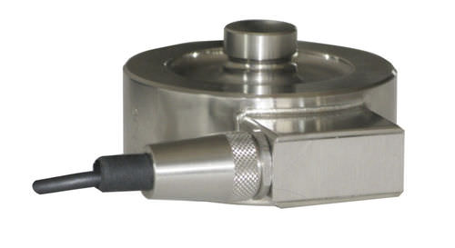 compression load cell / button type / stainless steel / precision