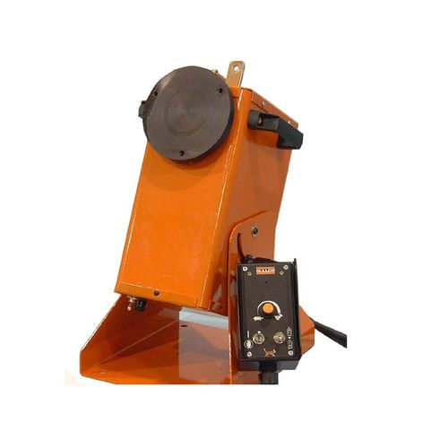 motorized welding positioner / rotary / vertical / 1-axis