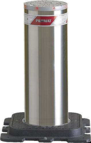 Automatic retractable bollard max. 600 mm, ø 220 mm | 220/PL 600A PILOMAT