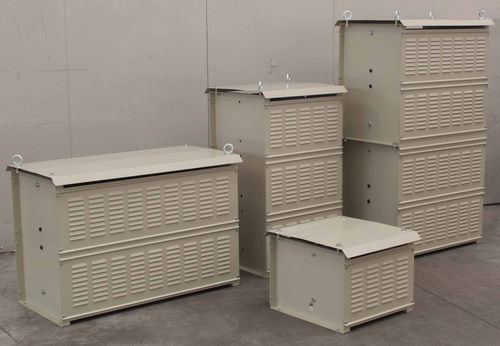 Stainless steel-housed resistor / floor-mounted / phase / braking TELEMA