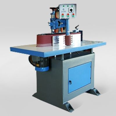 surface grinding machine / for metal sheets / PLC-controlled