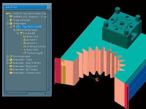 CAM software / EDM / machining TEBIS