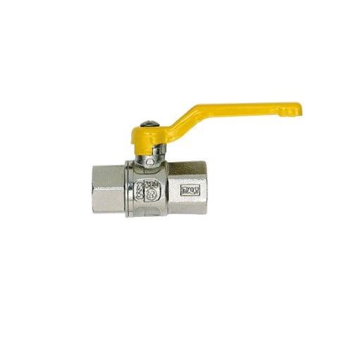 Ball valve / manual / control / for gas -20 - 60 ºC | 420 series FERRERO RUBINETTERIE SRL