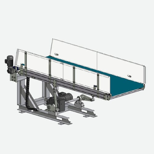 vertical divider / for conveyors