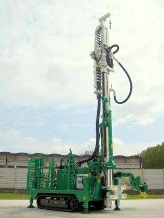 soil investigation drilling rig / crawler / rotary / hydraulic