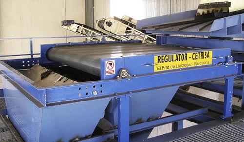 magnetic drum separator / metal / high-efficiency