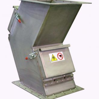 magnetic plate separator / gravity / metal / high-intensity