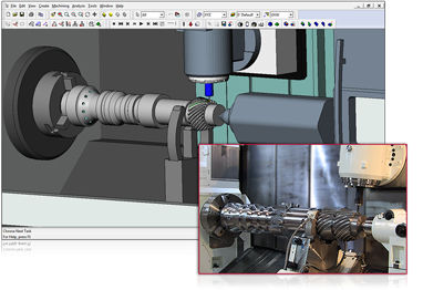 CAM software / for multi-function milling-turning machines / 3D