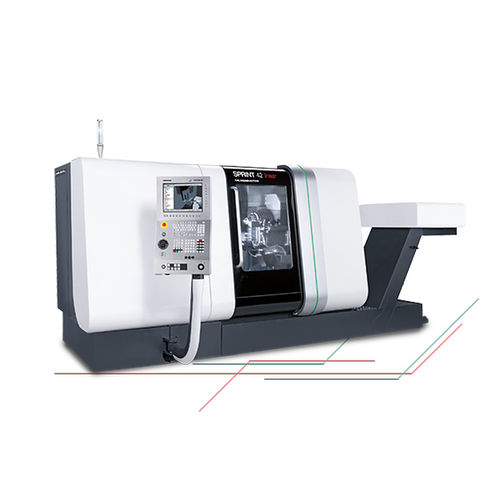 CNC turning center / 8-axis / with linear motor / double-spindle