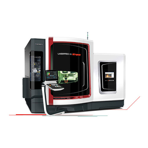 5-axis CNC milling and additive manufacturing machine / universal / laser deposition welding