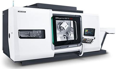 CNC milling-turning center / universal / 5-axis / with linear motor CTX gamma 1250 TC DMG MORI