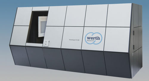 Multi-sensor coordinate measuring machine / with computed tomography (CT) / compact TomoScope® XL WERTH MESSTECHNIK