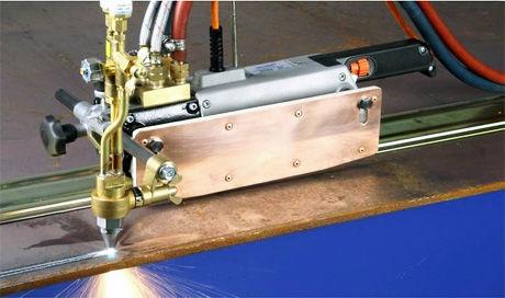 steel cutting machine / oxyacetylene / CNC / portable