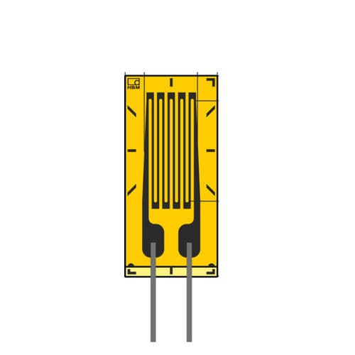 resistive strain gauge / rosette type / linear / biaxial