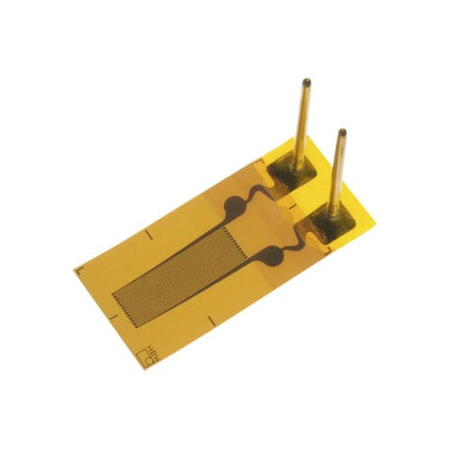 resistive strain gauge / single-axis / embedded / structurally integrated