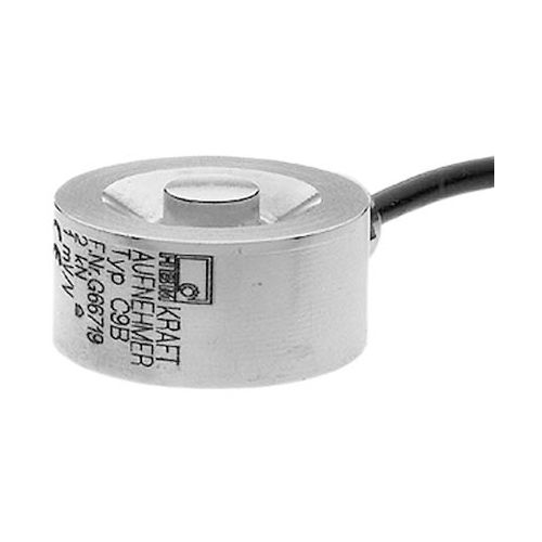 compression load cell / button type / miniature / strain gauge