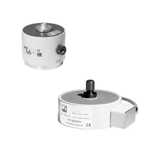 Compression load cell / single-column / precision TOP HBM Test and Measurement