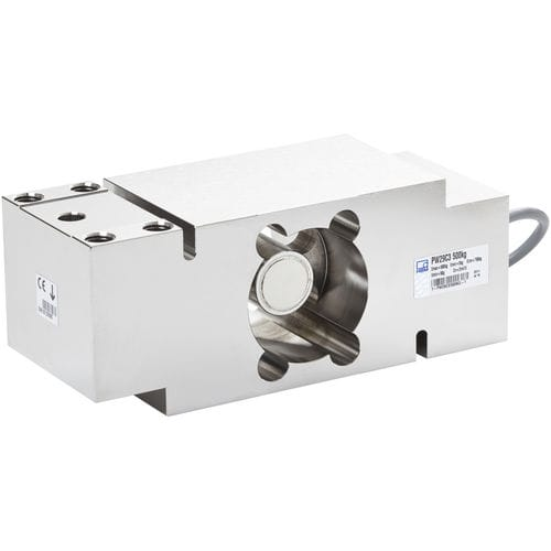 single-point load cell / beam type / stainless steel / high-capacity