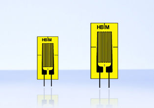 resistive strain gauge / single-axis