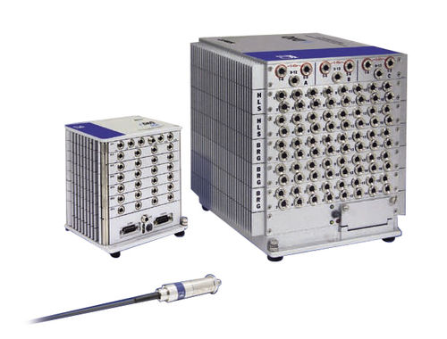 Temperature data acquisition system / rack-mount / rugged / for mobile applications SoMat eDAQ HBM Test and Measurement