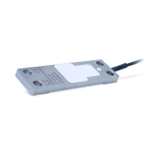 strain sensor for dynamic applications / 4 screws / with integrated amplifier / flat
