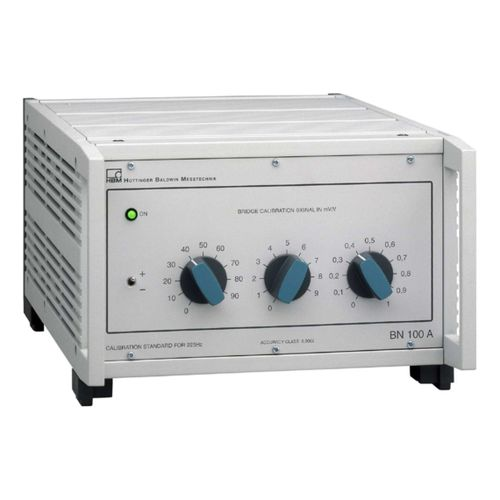 Digital calibrator / precision / reference value BN100A  HBM Test and Measurement