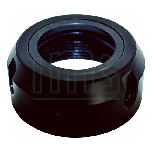 cylindrical nut / steel / for collets