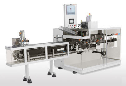 Horizontal cartoner / automatic / intermittent-motion / for the pharmaceutical industry K 120i ACG Worldwide