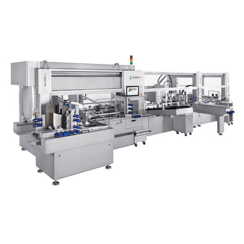 top-loading cartoner / for the pharmaceutical industry / for the medical industry / compact