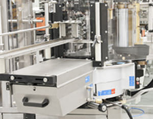 automatic labeler / cold-glue / rotary