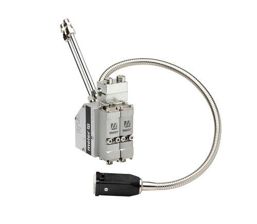 Dispensing gun / hot-melt adhesive / automatic MU series Focke Meler Gluing Solutions, S.A