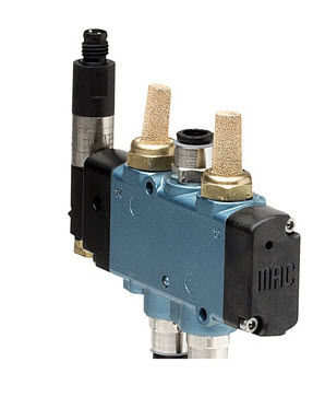 5/2-way solenoid valve Focke Meler Gluing Solutions, S.A