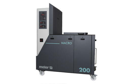 Hot melt glue melter / with gear pump macro series Focke Meler Gluing Solutions, S.A