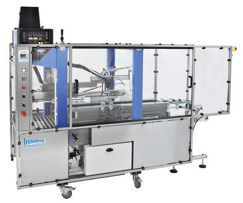 Multi-flap case sealer / hot-melt glue HM1200 TOP 900 Technibag