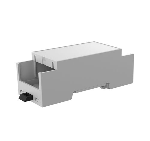 DIN rail enclosure / modular / ABS / electronic equipment