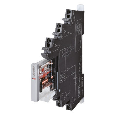 DC electromechanical relay / compact / slim