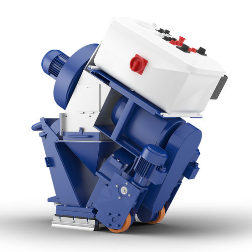 manual shot blasting machine / for metal / ground / mobile