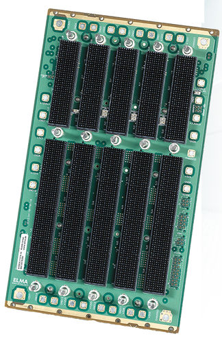 VPX backplane / 6-10 slots 6U Elma Electronic