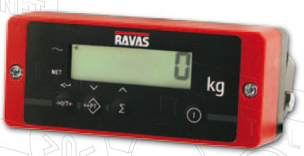 digital weight indicator / panel-mount / waterproof / for forklift trucks