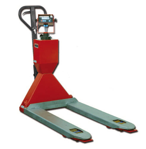 hand pallet truck / scale / explosion-proof