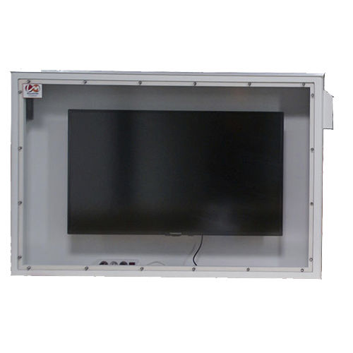 wall-mount casing / rectangular / in plastic / protection
