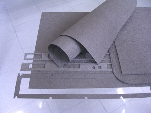 conductive fabric / polyester / for EMC shielding