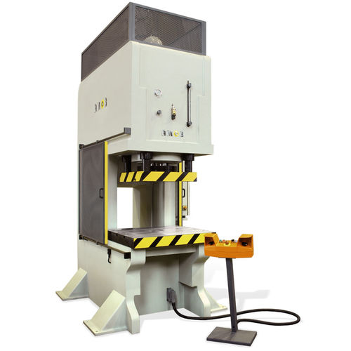 Hydraulic press / forming / vertical / C-frame PHC series AMOB Maquinas Ferramentas SA