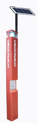 Emergency telephone / waterproof / GSM / with solar panel GSMKNEM-21 HONGKONG KOON TECHNOLOGY LTD
